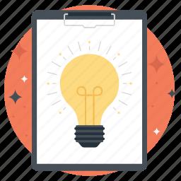 bright idea, idea, innovation, productivity, work idea icon
