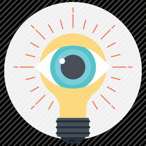 creativity, development, imaginations, innovation, search talent icon