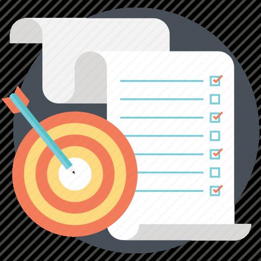 aim, goals, objective, success goals, target icon