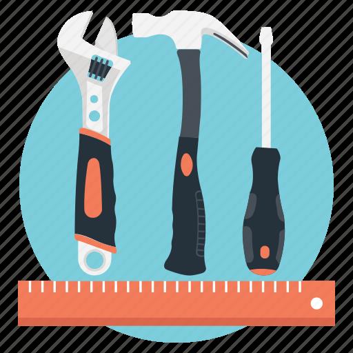 drafting, modify, repair, stationary, tools icon