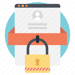 app security, cyber security, internet security, online security, web security icon
