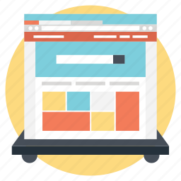 css design, web designing, web graphics, website layout, wireframe icon