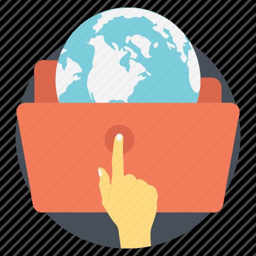 browsing, internet, internet exploring, web, worldwide connection icon