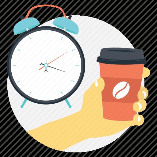 break time, coffee break, coffee cup, take a break, tea break icon