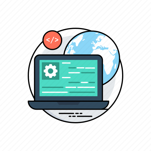 html, programming interface, source code, source page, web development icon