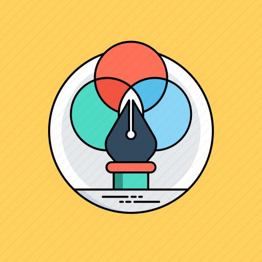 creative design, digital artwork, graphic design, illustration, visual communication icon