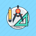 designing tools, digital tools, drafting tools, product design, refine icon