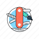 multi-tool, pocket tools, service, swiss tools, tools icon