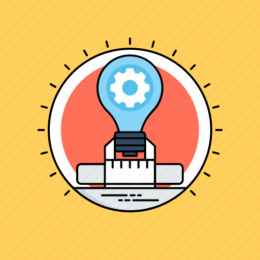 creative idea, creative process, innovation, smart solution, transforming idea icon