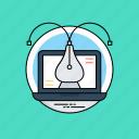 digital image, pixel-based illustration, vector art, vector graphics, vector illustration icon