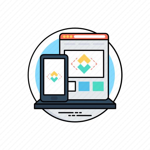 adaptive interface, adaptive user interface, adaptive web development, aui, interface design icon