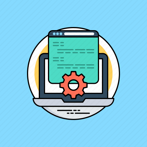 html, program coding, programming interface, source code, web development icon