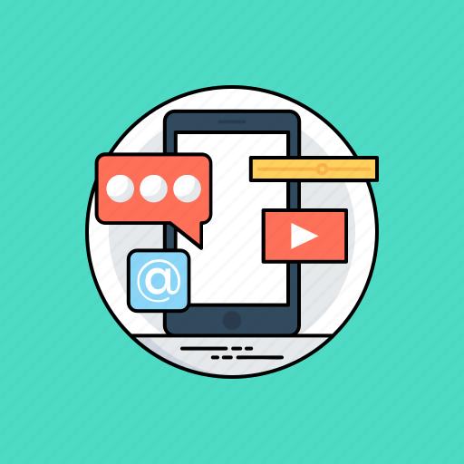 api interface, app development, mobile application, mobile interface design, mobile website development icon