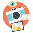 camera, digital photography, photographer, photographic camera, photography icon