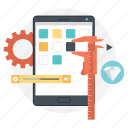 android mobile, app development, app setting, mobile app, mobile ui icon