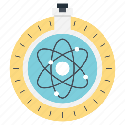 atomic structure, development, discover, discovery of proton, science solutions icon
