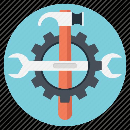 development, development tools, maintenance, programming tools, setting tools icon