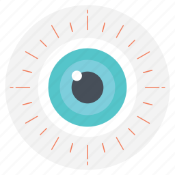 eyesight, see, sight, view, vision icon