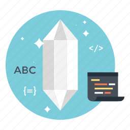 clean code, coding, css, html, programming code icon