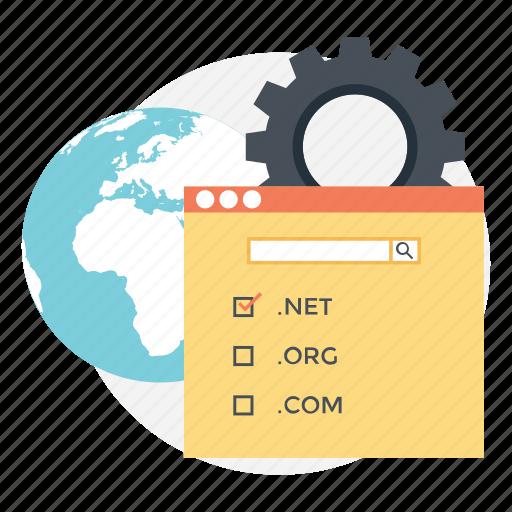 dns, domain controller, domain gateway, domain name system, domain registration icon