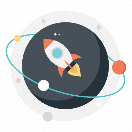astronomy, scientific research, space exploration, space science, spaceship icon