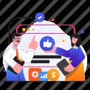 social media, marketing, team, people, seo, business, management