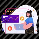 seo, marketing, optimization, advertising, internet, connection, woman