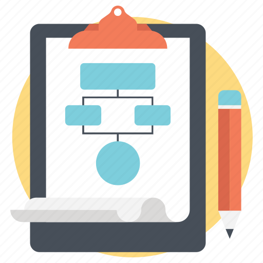 hierarchy, network sharing, project planning, sitemap, workflow icon