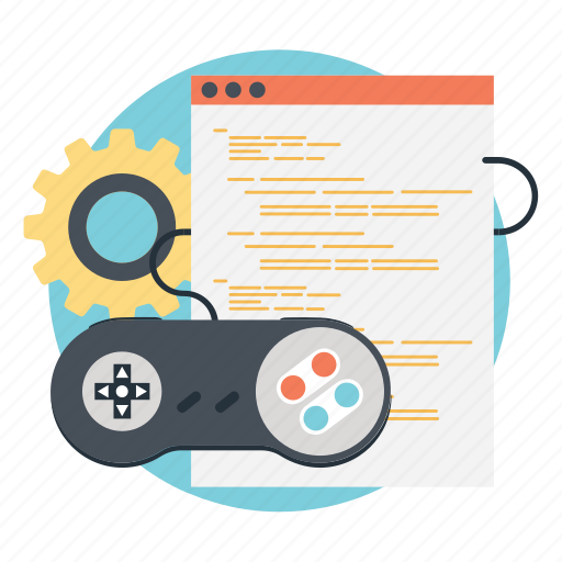 game development, game programming, online games development, video games development, video games marketing icon