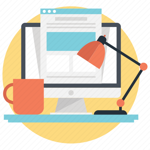 freelancing, independent work, job, self employed, work from home icon