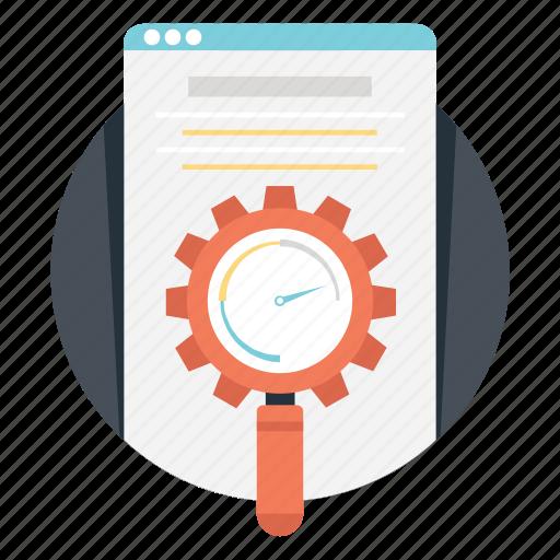 marketing, seo, web optimization, web presence, website traffic icon
