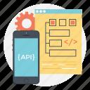 api interface, app design, mobile api, app development, mobile development