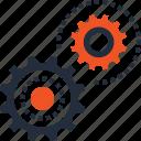 development, engine, mechanics, gear, settings, cogwheel, options