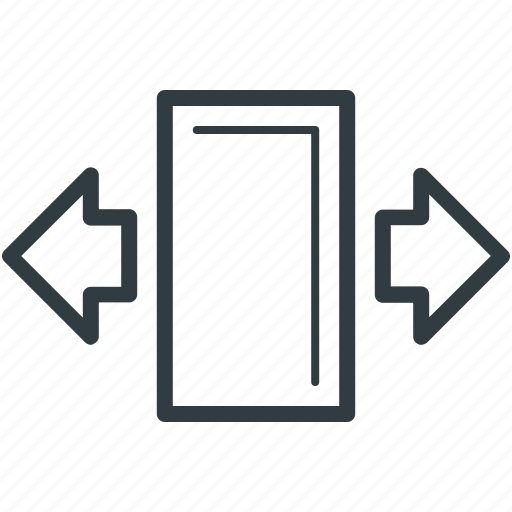 arrows exchange, horizontal arrows, opposite arrows, page arrows, revert icon