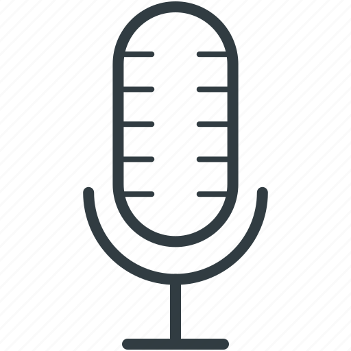 loud, mic, microphone, radio mic, recording mic icon