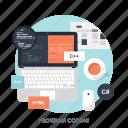 app, application, coding, development, laptop, program, software