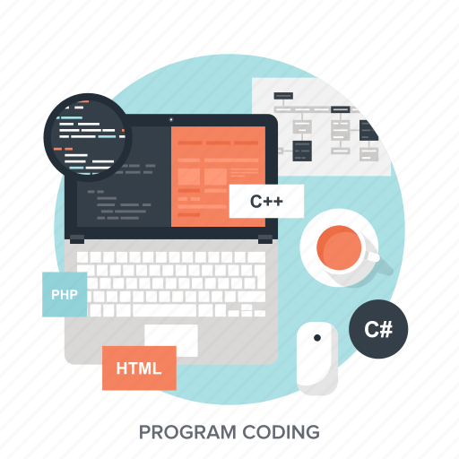 app, application, coding, development, laptop, program, software icon