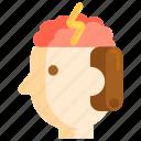 brain, brains, brainstorm, brainstorming, brainy icon