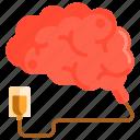 brain, brain recharge, recharge icon