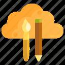 cloud, cloud design, cloud storage icon
