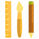 design, design tools, stationery, tools icon