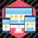 app, desktop, mobile, responsive, screen, site icon