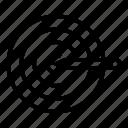 aim, business, focus, goal, target icon