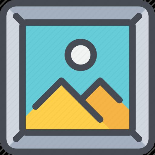 frame, home, media, photo, travel icon