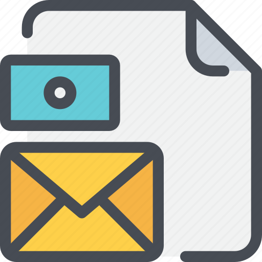 branding, business, card, document, file, letter, mail icon