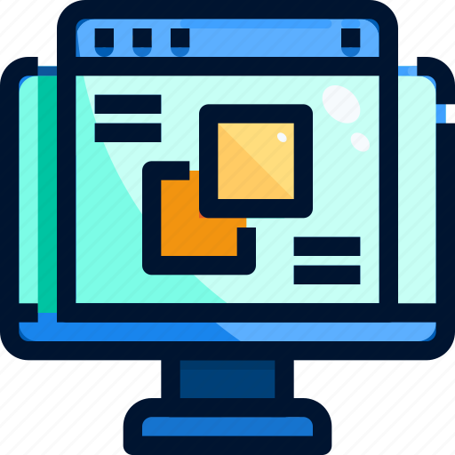 app, art, computer, design, shapea, web icon