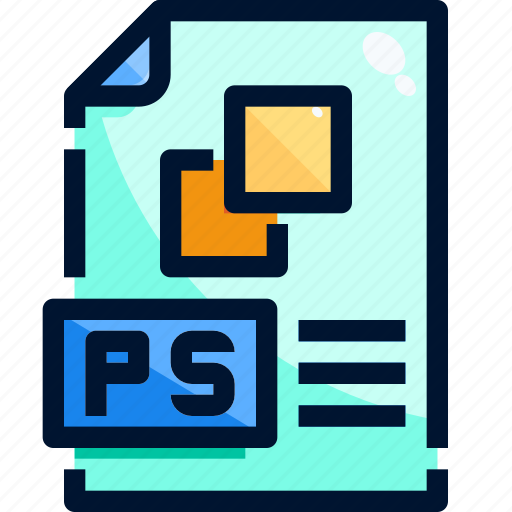 Document, file, format, paper, photoshop icon - Download on Iconfinder