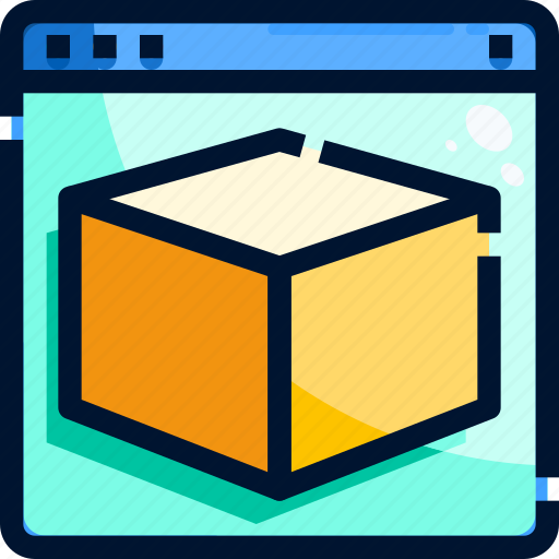 App, cube, program, shape icon - Download on Iconfinder