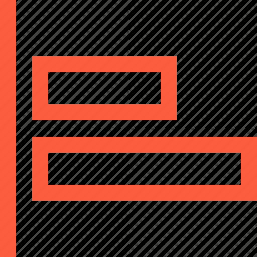 align, command, design, function, left icon