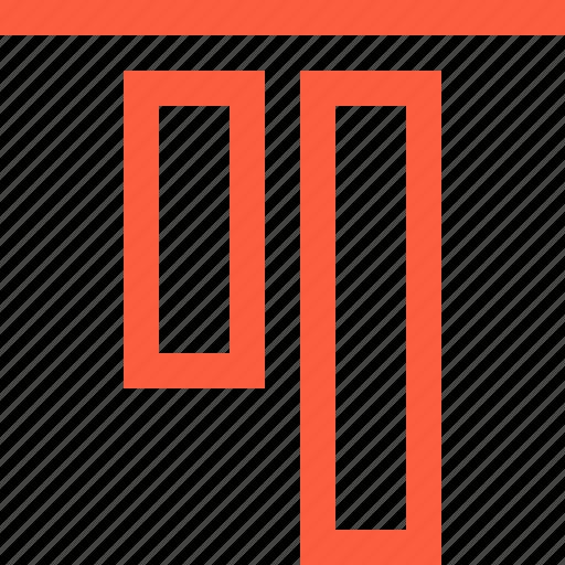 align, blocks, design, function, tool, top icon